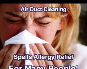 Allergies Relief From Air Duct Cleaning